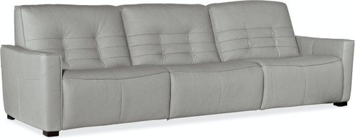 """121"""" Hooker Furniture Living Room Reaux Power Recline Sofa with 3 Recliners - 1"""