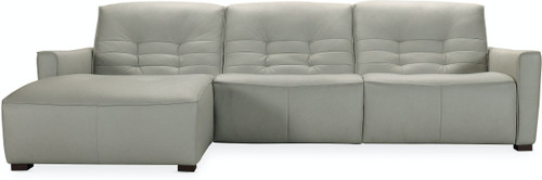 """122"""" Hooker Furniture Living Room Reaux Power Motion Sofa with LAF Chaise and 2 Recline - 1"""