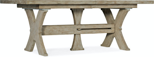 """30"""" Hooker Furniture Alfresco Vittorio Rectangle Dining Table with Leaves - 1"""