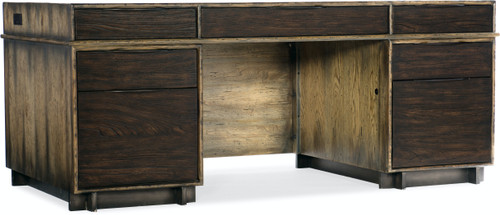 """30"""" Hooker Furniture Home Office Crafted Executive Desk - 1"""