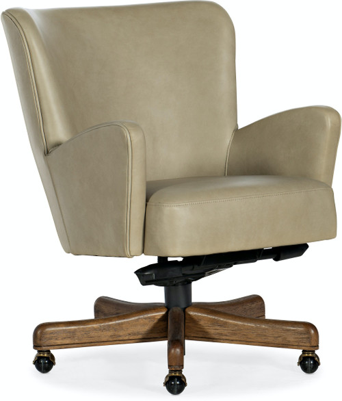 "30"" Hooker Furniture Home Office Eva Executive Swivel Tilt Chair - 1"