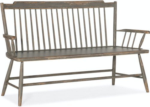 "37"" Hooker Furniture Alfresco Marzano Dining Bench - 1"