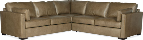 3-Piece Hooker Furniture Living Room Romiah Stationary Sectional - 1