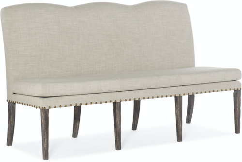 "40"" Hooker Furniture Beaumont Upholstered Dining Bench - 1"