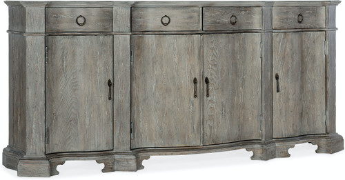 """40"""" Hooker Furniture Dining Room Four-Drawer Beaumont Buffet Cabinet - 1"""