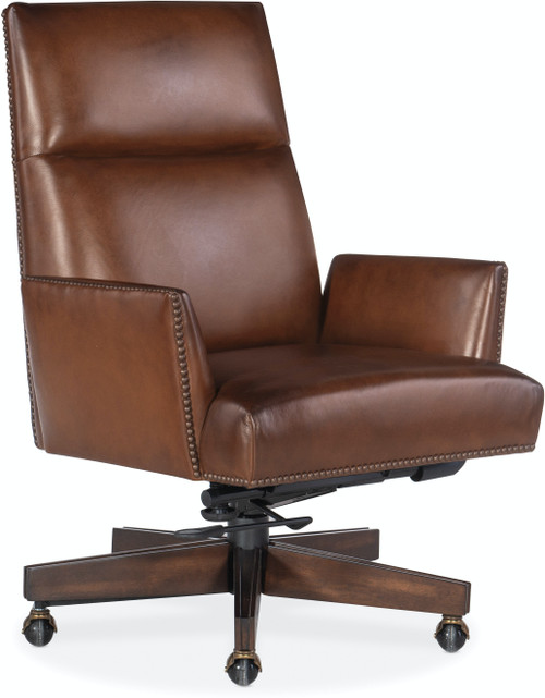 "40"" Hooker Furniture Home Office Gracilia Executive Swivel Tilt Chair - 1"