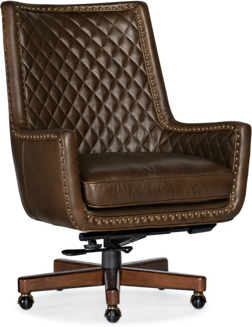"40"" Hooker Furniture Home Office Kent Executive Swivel Tilt Chair - 1"