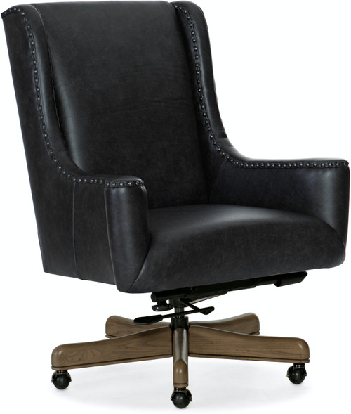 "41"" Hooker Furniture Home Office Lily Executive Swivel Tilt Chair - 1"