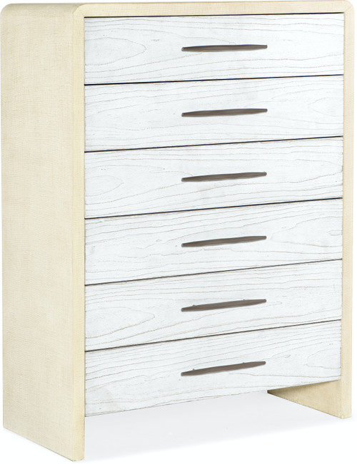 "54"" Hooker Furniture Bedroom Six-Drawer Cascade Chest - 1"