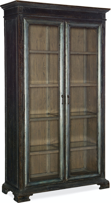 """90"""" Hooker Furniture Dining Room Beaumont Display Cabinet - 1"""