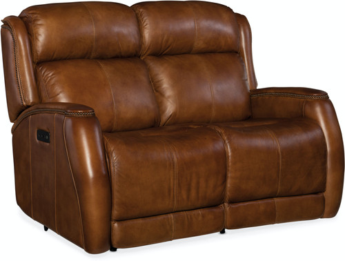 Hooker Furniture Living Room Emerson Power Recliner Loveseat with Headrest - 1