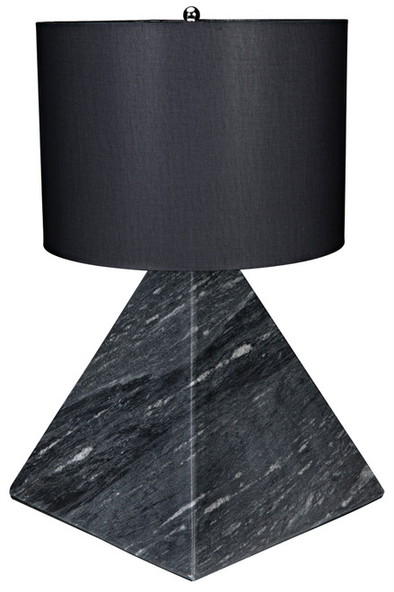 Noir Sheba Table Lamp with Black Shade - 1