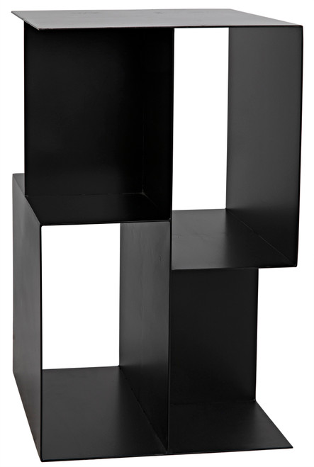 "25"" Noir Memento Metal Side Table - Black - 1"