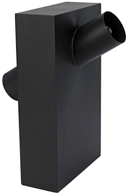 Noir Topo Lamp - Black Metal - 1