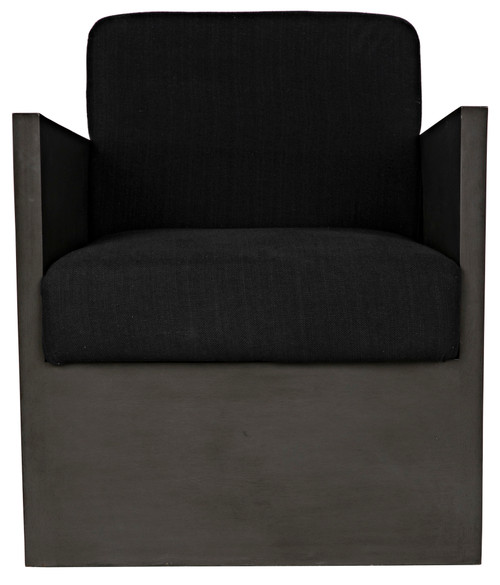 "30"" Noir Borelli Mahogany Chair - Pale - 1"