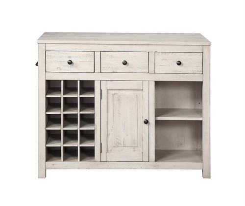 """37"""" Coast to Coast Accents 3 Drawer Wine Server Cabinet - 1"""