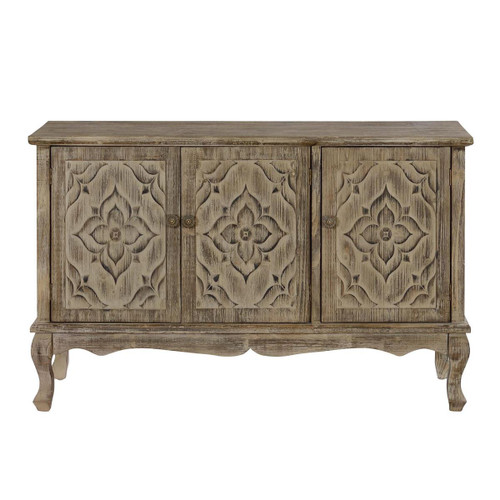 "30"" Coast to Coast Accents 3 Door Credenza Cabinet - 1"