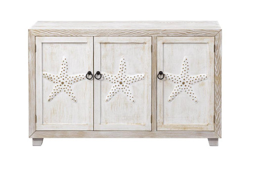 "30"" Coast to Coast Accents 3 Door Credenza Cabinet 2 - 1"