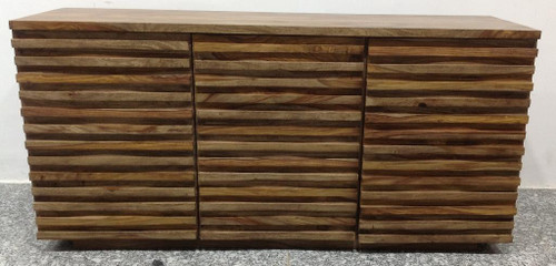 "30"" Coast to Coast Accents 3 Door Credenza Cabinet 3 - 1"