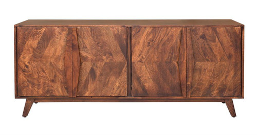 "30"" Coast to Coast Accents 4 Door Credenza Cabinet - 1"