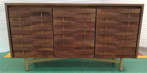 "32"" Coast to Coast Accents 3 Door Credenza Cabinet - 1"