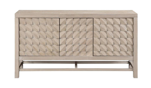 "32"" Coast to Coast Accents 3 Door Media Credenza Cabinet 1 - 1"