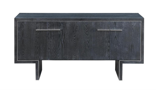 "32"" Coast to Coast Accents 4 Door Media Credenza Cabinet 1 - 1"