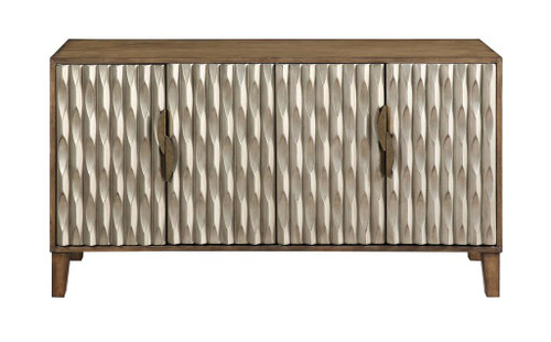 "32"" Coast to Coast Accents 4 Door Media Credenza Cabinet 2 - 1"