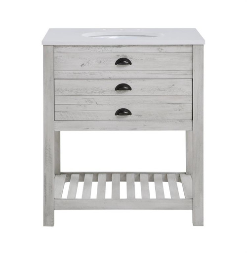 """35"""" Coast to Coast Accents 1 Drawer Vanity Sink Chest - 1"""