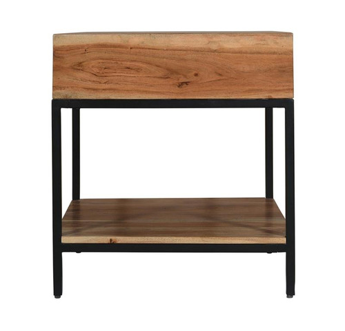 """22"""" Coast to Coast Accents 1 Drawer End Table - 1"""