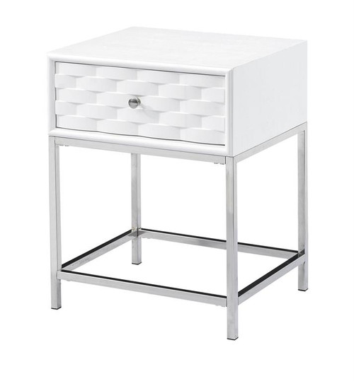 """22"""" Coast to Coast Accents 1 Drawer End Table 1 - 1"""