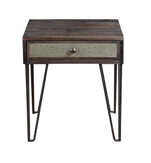 """24"""" Coast to Coast Accents 1 Drawer End Table 2 - 1"""