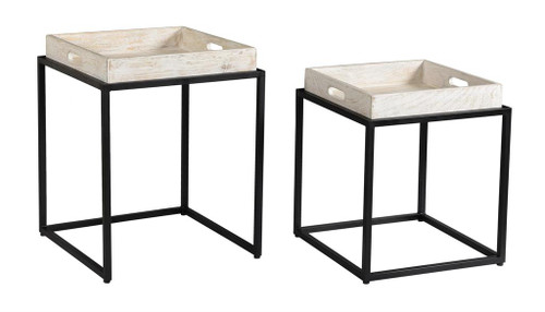 "26"" Coast to Coast Accents Nesting Table - 1"