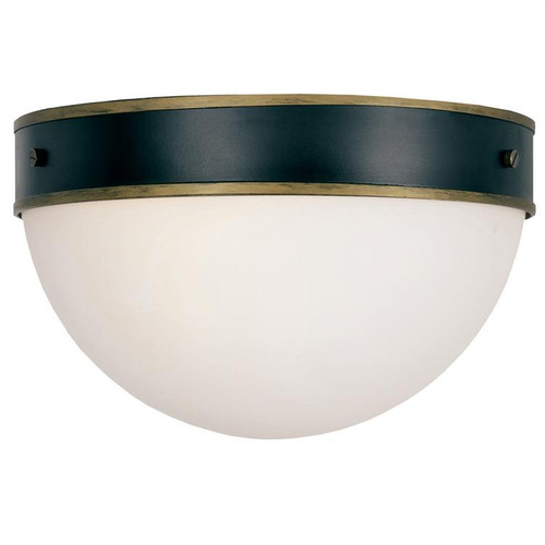 Crystorama Brian Patrick Flynn for Capsule Outdoor 2 Light Ceiling Mount Light - 1