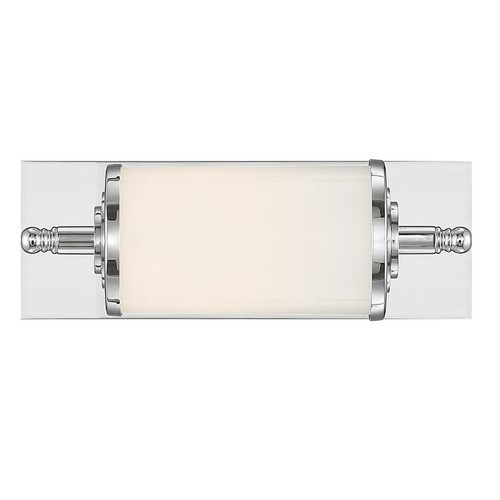 Crystorama Foster 1 Light Chrome Bathroom Vanity Light - 1