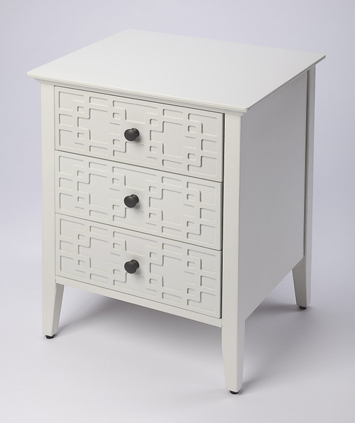 "24"" Butler Loft 3-Drawer Accent Chest - 1"