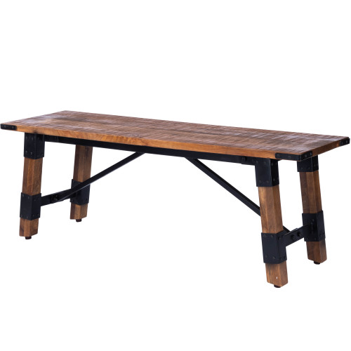 """19"""" Butler Mountain Lodge Accent Bench - 1"""