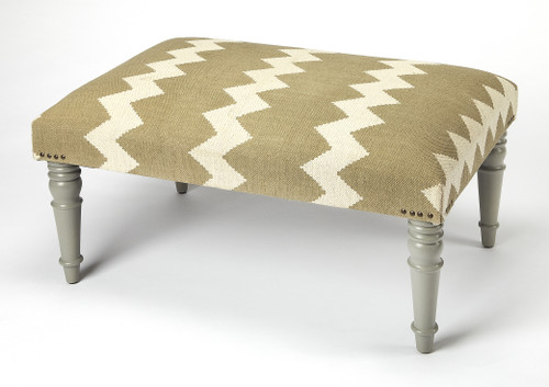 """18"""" Butler Accent Seating Cocktail Ottoman 2 - 1"""