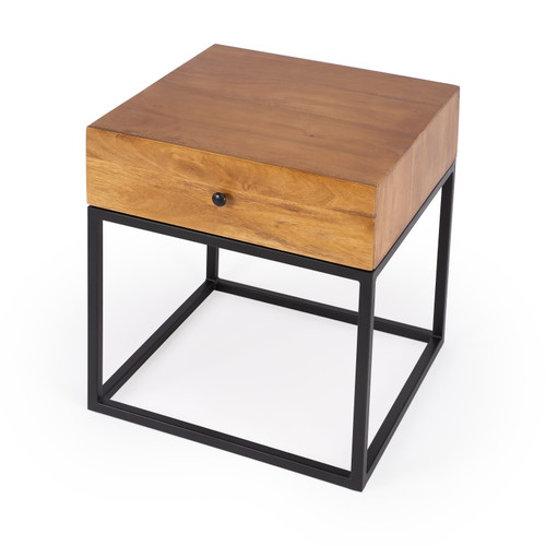 """22"""" Butler Industrial Chic End Table - 1"""