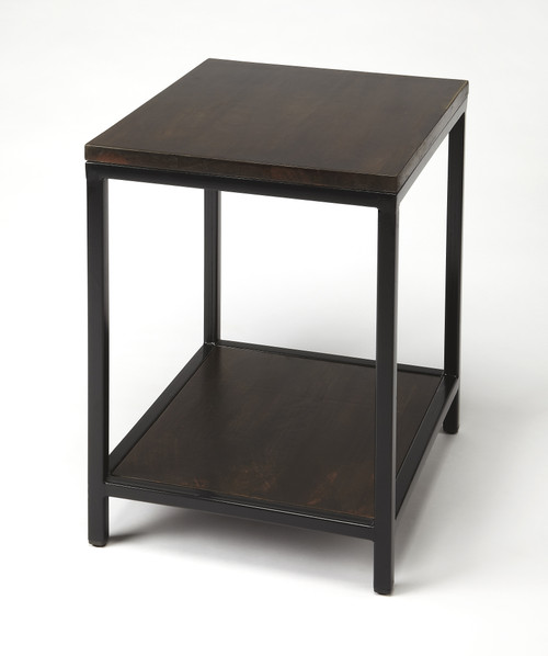 "27"" Butler Industrial Chic End Table - 1"