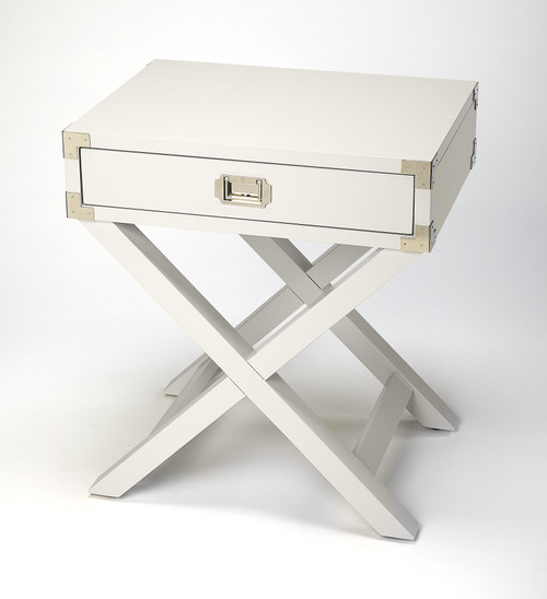 "28"" Butler Loft Campaign Side Table - 1"