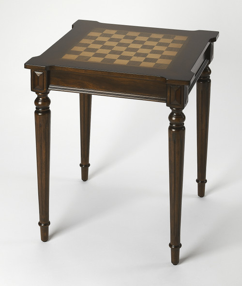 "28"" Butler Plantation Cherry Game Table 1 - 1"