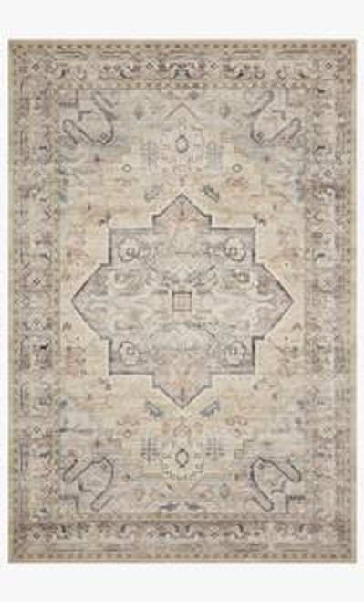 Loloi Hathaway Collection Multi / Ivory 9 x 12