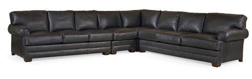 Century Furniture Leatherstone LAF Queen Sleeper Sofa Bed - 1