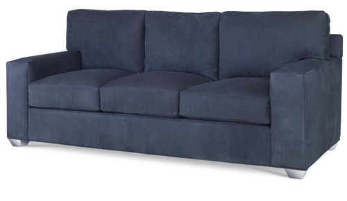 Century Furniture Leatherstone 3 Back 3 Seat Queen Sleeper Sofa Bed - 1