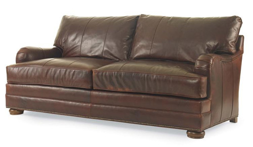Century Furniture Leatherstone 2 Back 2 Seat Queen Sleeper Sofa Bed - 1