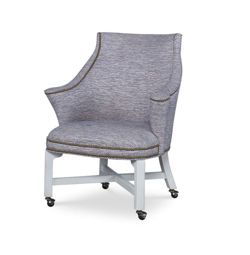 """36"""" Century Furniture Consulate Game Chair - 1"""