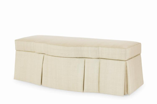 "22"" Century Furniture Cornell Storage Ottoman - 1"