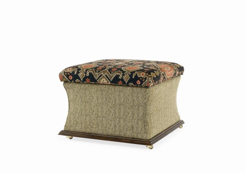 "21"" Century Furniture O'farrell Storage Ottoman - 1"