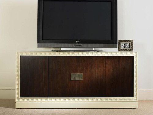 """33"""" Century Furniture Tribeca Entertainment Console Cabinet with Uph Doors - 1"""